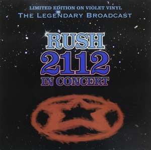 Rush - 2112 In Concert [LIMITED EDITION ON VIOLET VINYL] £7.99 Prime / £10.98 Sold by Coda Records and Fulfilled by Amazon