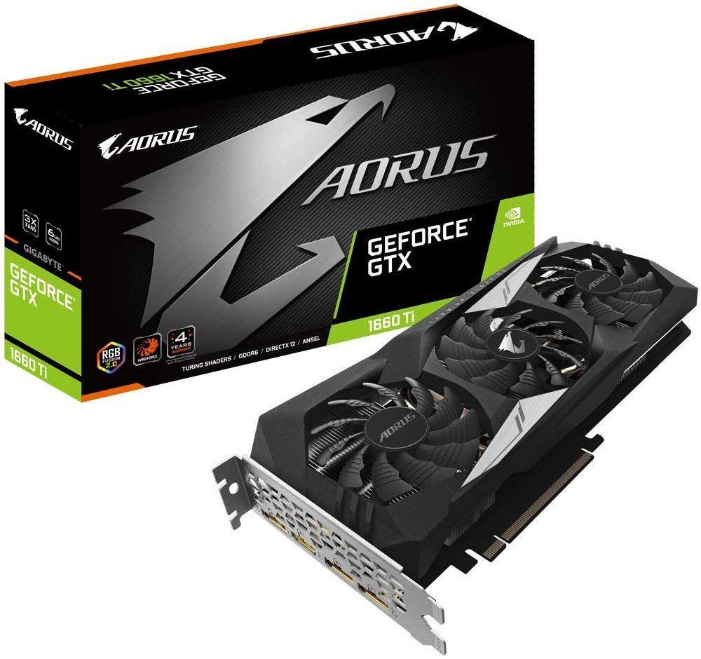 Gigabyte AORUS GeForce GTX 1660 Ti £259.99 @ Amazon