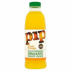 4 x Pip Organic Fresh Orange Cold Pressed Juice 200ml bottles - £1 @ Fulton Foods