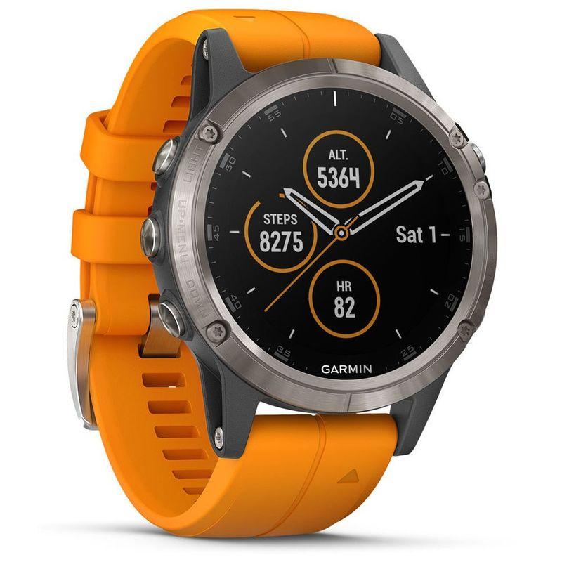 Garmin Fenix 5 Plus Saphire Titanium Sport GPS Watch - £406 @ Sportpursuit