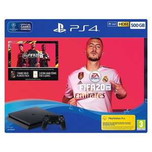 PS4 1TB Console With Fifa 20 - Black £249.96 @ Ebuyer