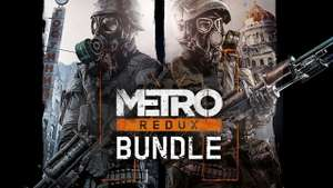 [Steam] Metro Redux Bundle Inc Last Light Redux, Metro 2033 Redux & All DLC (PC) - £3.35 @ Fanatical