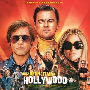 Quentin Tarantino's Once Upon A Time In Hollywood OST [VINYL] now £15.99 (Prime) + £2.99 (non Prime) at Amazon