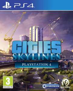 Cities Skylines Ps4 download PS Store £9.99