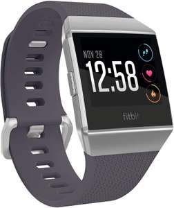 Fitbit Ionic Health & Fitness Smartwatch with GPS, Hearth Rate, Swim Tracking & Music, Blue-Grey/Silver-Grey - £132.50 @ Amazon Spain