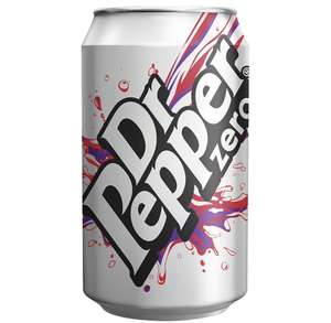 Dr Pepper Zero Can (24 X 330ml) £5.99 @ The Food Warehouse (Wiltshire)