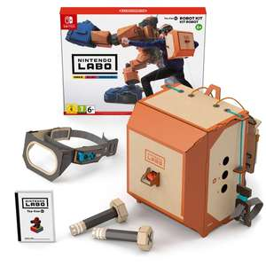 Nintendo Switch Labo Toy-Con 02: Robot Kit £19.99 Smyths in store only