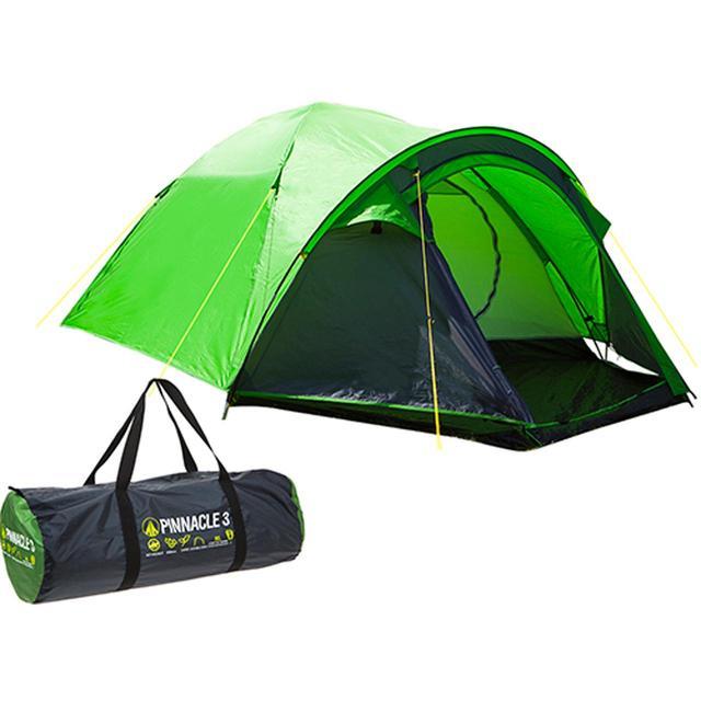 Pinnacle Summit Three Person Dome Tent - 50% off £30 @ Ocado
