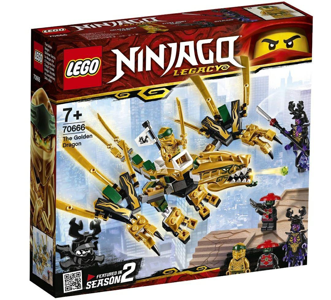 Lego Ninjago - The Golden Dragon 70666 £5 instore @ B&M Ipswich