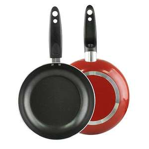 Dunelm - Non-Stick 24cm £1.25/ 20cm £1.00 - Red Frying Pan (good for a starter kit, camping, students, etc) Free C&C @ Dunelm