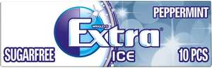 Wrigley's Extra Ice Peppermint Sugarfree Gum with Microgranules 10 Pieces (Pack of 30) £6.44 + £4.49 NP @ Amazon