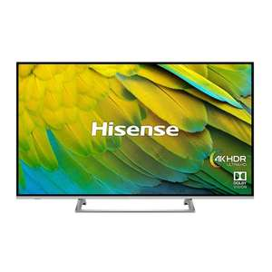 """Hisense H50B7500UK (2019) LED HDR 4K Ultra HD Smart TV, 50"""" with Freeview Play + 6 Years Warranty - £339 @ Richer Sounds"""