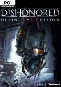 Dishonored Definitive Edition PC Steam Key £2.99 @ CDKeys