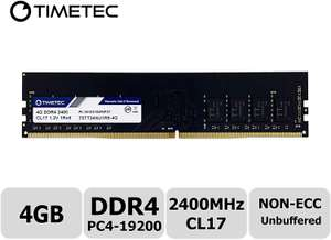 Timetec Hynix IC 16GB DDR4 2133MHz PC4-17000 Unbuffered Non-ECC 1.2V CL15 2Rx8 Computer Memory £20.48 delivered sold by Amazon US