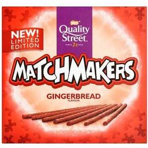 Matchmakers gingerbread flavour 15p at Tesco instore