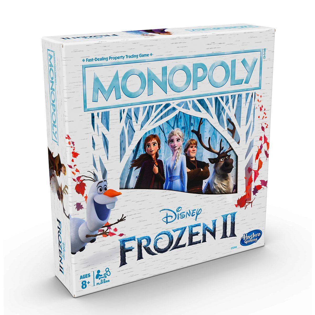 Frozen 2 Monopoly Board Game £14.99 free c&c Robert Dyas