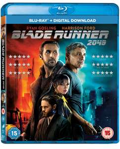 Blade runner 2049 blu ray/digital download £3.99 or limited edition £4.99 free click and collect @ HMV