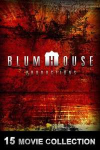 Blumhouse 15 Movie Collection £24.99 (1.67 per movie) @ iTunes