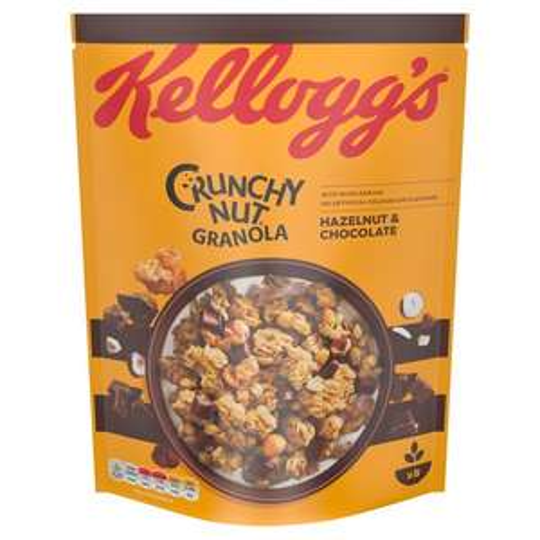 Kellogg's Crunchy Nut Chocolate Oat Granola 380G / Crunchy Nut Caramelised Granola 380G £1.50 @ Tesco