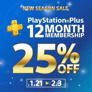 25% off PlayStation Plus PS+ 12 month Membership £25.84 @ PlayStation PSN Indonesia
