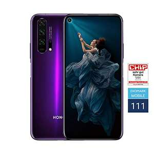 Honor 20 Pro 256 GB Smartphone now £358.12 delivered / £347.95 delivered with fee free card at Amazon Germany