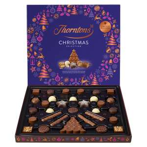 Thorntons Christmas Selection Box 366g £1.80 With Voucher Code (£2.00 Without) £3.95 delivery at Thorntons