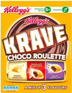 Krave 375g Chocolate Cereals £1.50 @ Tesco Instore and Online