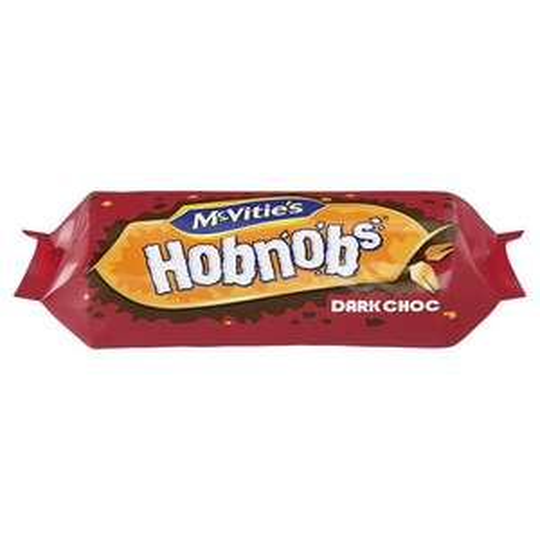 Mcvities Hobnob Chocolate Biscuits 262G (milk or dark) 262g 75p @ Tesco Instore & Online