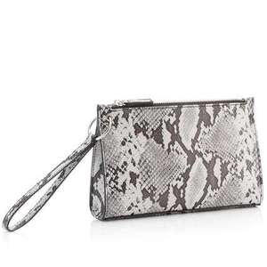 Faith - Multicoloured Snake-Effect 'Pixie' Clutch Bag £8.70 Debenhams - free Click & Collect