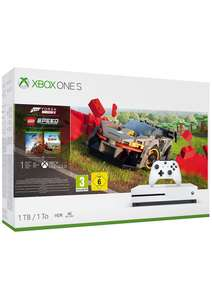 Xbox One S 1TB Forza Horizon 4 Lego Speed Champions Bundle with 1 month Game Pass + 1 Month Xbox Live Gold £179.99 @ Simply Games