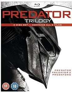 Predator trilogy blu ray £6.79 @ Amazon prime (£2.99 p&p non prime)