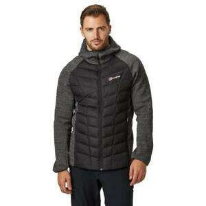 New Berghaus Men's Duneline Hybrid Insulated Jacket - Black £96.59 millets-outdoor eBay