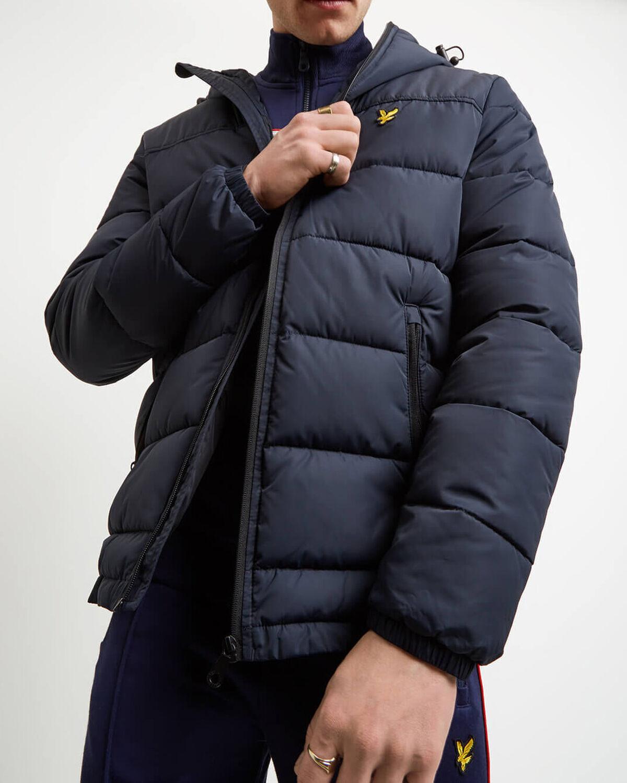 Lyle & Scott Wadded Jacket - Navy Blue £75