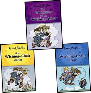 Enid Blyton The Wishing Chair Collection 3 Books Set - £1.50/ £3.99 Delivered from Books2door