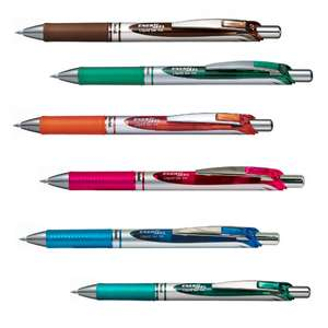 Pentel Energel XM Retractable 0.7mm Pen £1 Click & Collect Each - Various Colours - @ Ryman