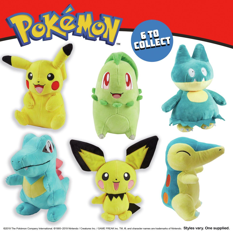 Pokemon 8inch Soft Toy Assortment - £8 @ Argos