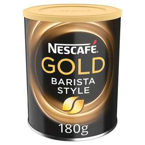 Nescafe Barista Gold Blend Style Instant Coffee 180g 374