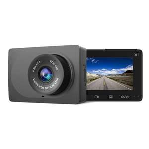 YI Compact Dash Camera 1080p Full HD with 2.7-inch screen, attachment & charger for £28.73 delivered @ AliExpress Deals / Yi Official Store