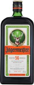 Jagermeister Herbal Liqueur, 1 L now £20 delivered at Amazon