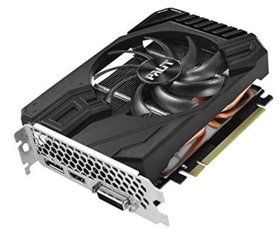 Palit GeForce GTX 1660 6GB StormX Boost Graphics Card £179.99 @ Amazon