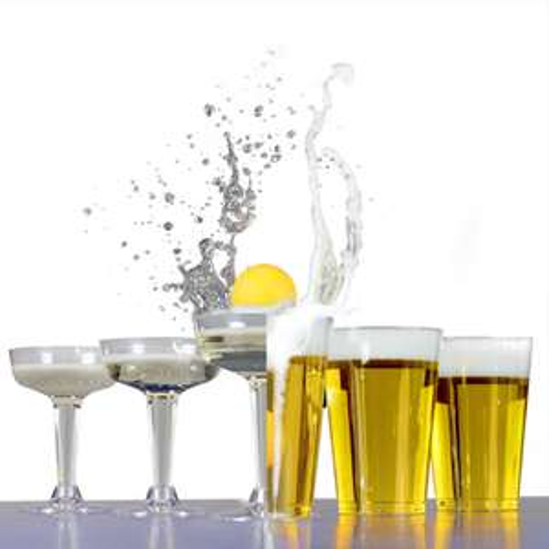 Beer & Prosecco Pong Kit - 4 Balls / 12 Beer Glasses + 12 Prosecco Glasses - £4.49 Delivered Using code @ Roov