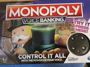 Monopoly Voice Banking Edition £15 in Tesco Airdrie