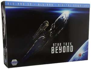 Star Trek Beyond Gift Set - Exclusive to Amazon [Blu-ray] [2016] £9.99 prime / £12.98 non prime Sold by Rush Gaming and Fulfilled by Amazon.