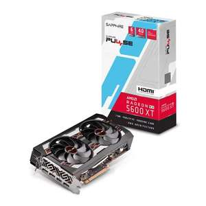 Sapphire AMD Radeon RX 5600 XT PULSE OC 6GB GDDR6 RDNA PCIe 4.0 Graphics Card £259.78 including Click & Collect Delivery @ Scan