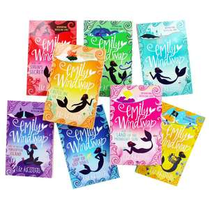 Emily Windsnap - 8 Book Box Set Now £7.50 & Free delivery with code @ TheWorks