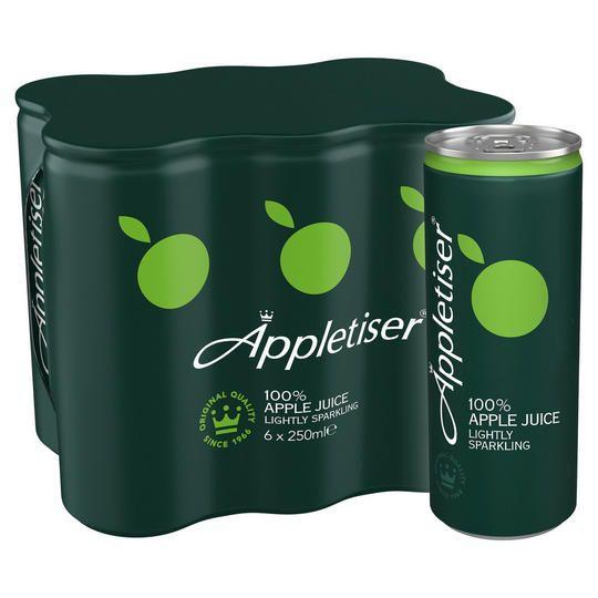 Appletiser 100% Apple Juice Lightly Sparkling 6X250ml £2 @ Iceland