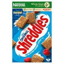 Nestle Shreddies original cereal 675g £1.50 @ Tesco