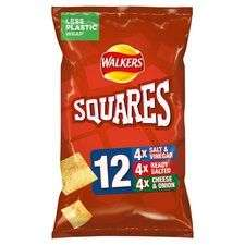 Walkers squares/French fries multipack 12 x 22g £1.47@ Tesco