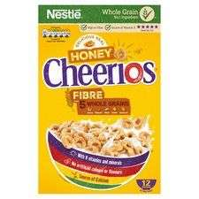 Nestlé honey Cheerios 375g £1.30@ Tesco