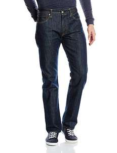 Levi's 501 Mens Original Fit Jeans, Regular Fitted Classic Levi's Design, Comfortable Denim £21+Free Delivery @ Amazon